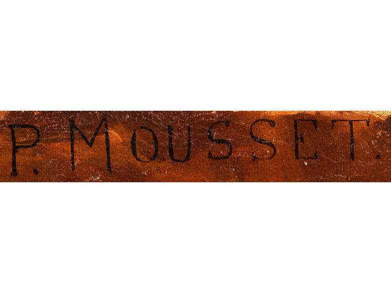 Detailabbildung: Pierre Joseph Mousset, gest. 1894 Paris