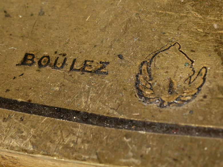 Detailabbildung: Eklektizistische Kaminuhr nach Georges Julien