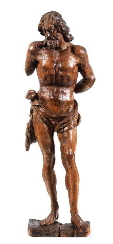 Stehende Christusfigur