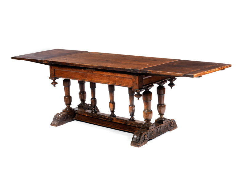 Detailabbildung: Frühbarocker Tisch