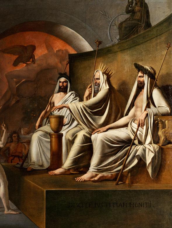 Detailabbildung: Französischer Maler der Zeit um 1800