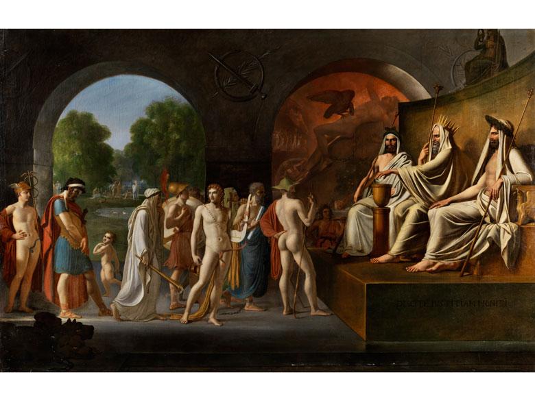 Französischer Maler der Zeit um 1800