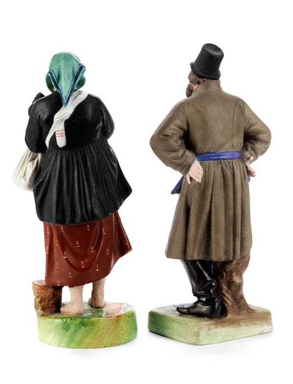 Detailabbildung: Paar Gardner-Figuren