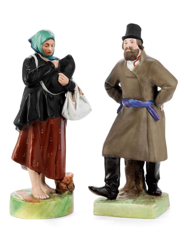 Paar Gardner-Figuren