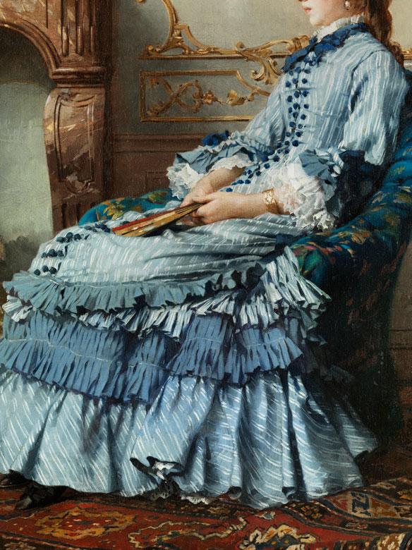 Detailabbildung: Frederick Hendrik Kaemmerer, 1839 Den Haag – 1902 Paris