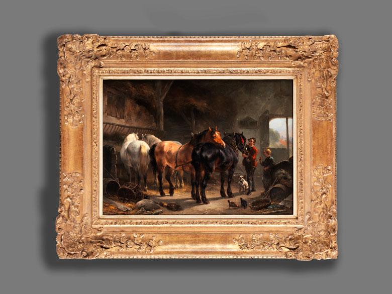 Detailabbildung: Wouter Verschuur d. Ä., 1812 Amsterdam – 1874 Vorden