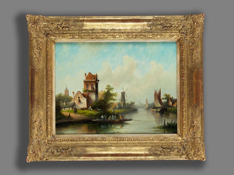 Detailabbildung: Jacob Jan Coenraad Spohler, 1837 Amsterdam – 1922 ebenda