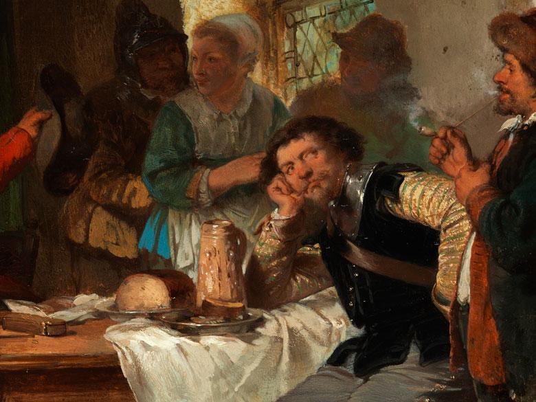 Detailabbildung: Herman Frederik Carel Ten Kate, 1822 Den Haag – 1891