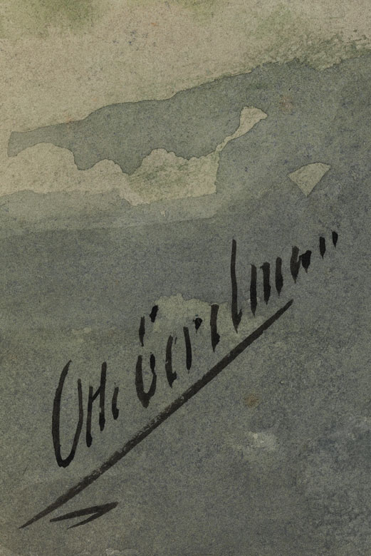 Detailabbildung: Otto Eerelman, 1839 Groningen, Friesland – 1926 ebenda
