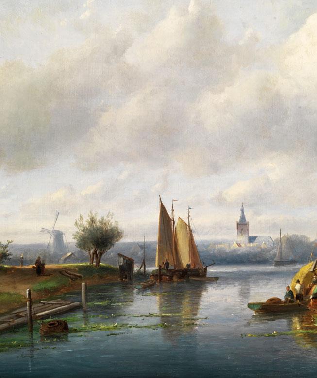 Detailabbildung: Charles Henri Joseph Leickert, 1816 Brüssel – 1907 Mainz
