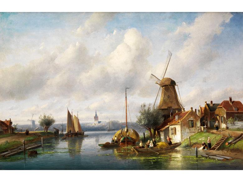 Charles Henri Joseph Leickert, 1816 Brüssel – 1907 Mainz