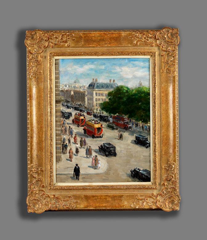 Detailabbildung: Narcisse Guilbert, 1878 Bouville/ Seine-Maritime – 1942