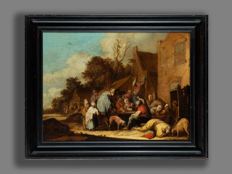 Detailabbildung: Pieter de Bloot, 1601 Rotterdam – 1658, zug.