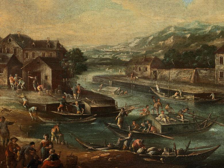Detailabbildung: Pieter Bout, 1658 – 1719, zug.