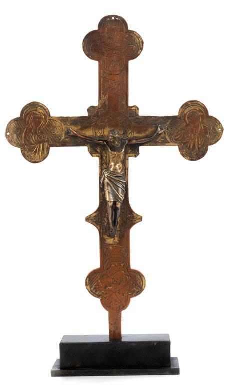 Museales Stellkreuz des 14. Jahrhunderts
