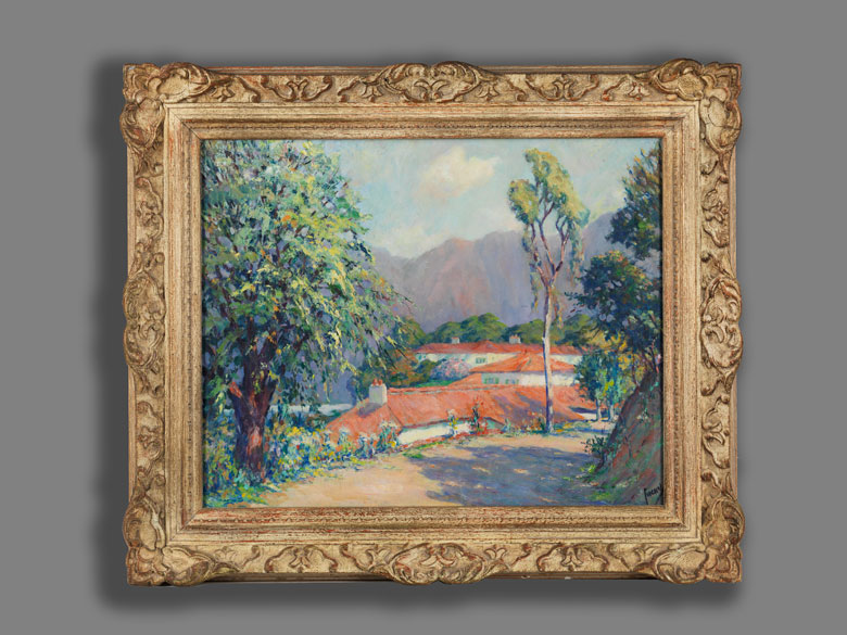 Detailabbildung: Edward Cucuel, 1875 San Francisco – 1954 Pasadena/ Kalifornien