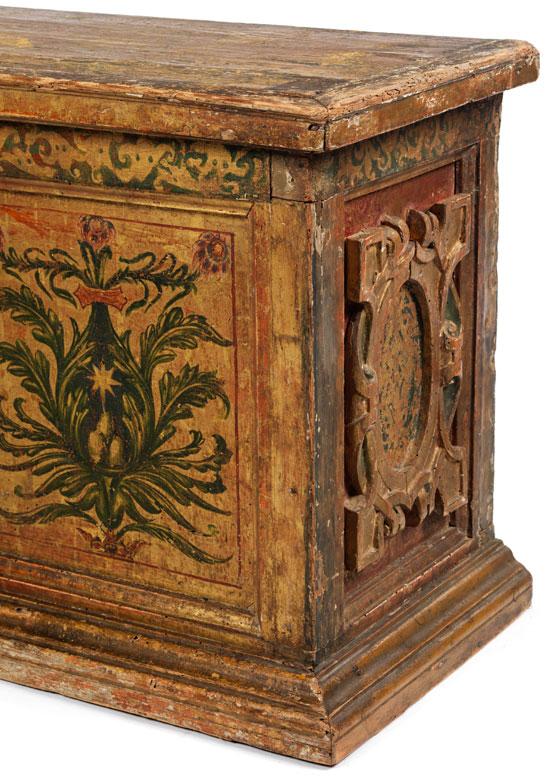 Detailabbildung: Renaissance-Truhe