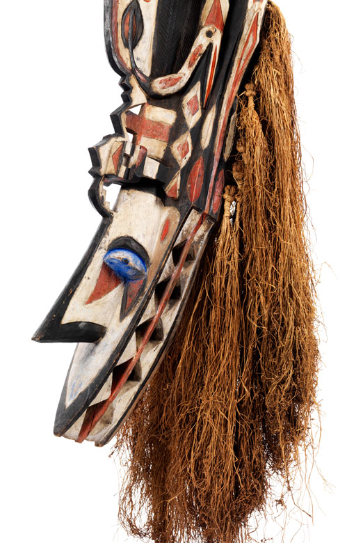 Detailabbildung: Seltene Baga-Maske