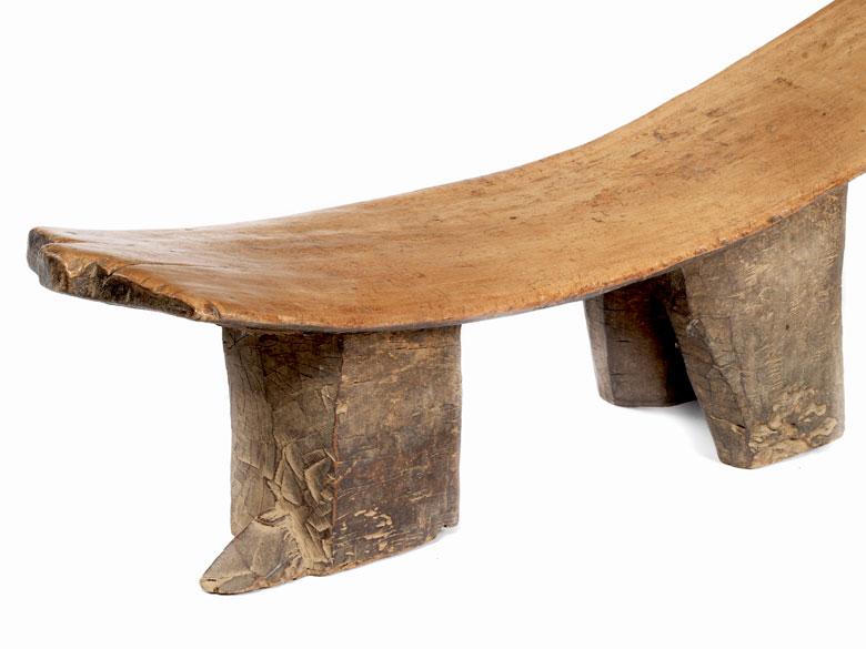 Detailabbildung: Seltenes afrikanisches Sitzmöbel