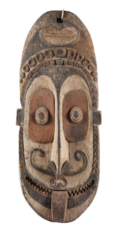 Detailabbildung: Papua-Hausmaske