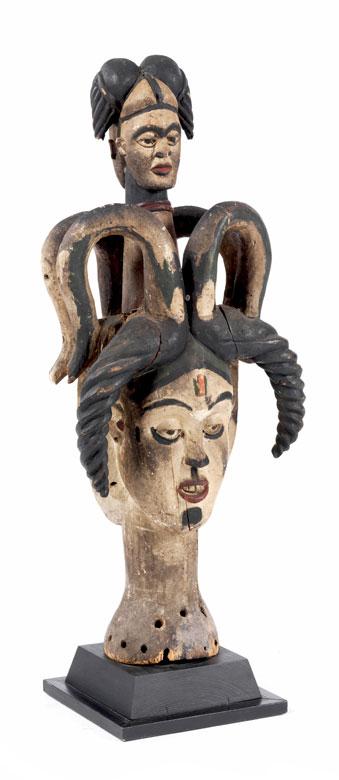 Doppelt-janusköpfige Maske