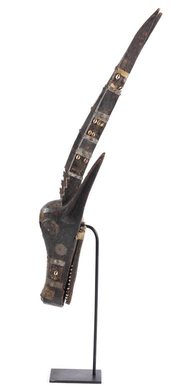 Detailabbildung: Antilopenmaske