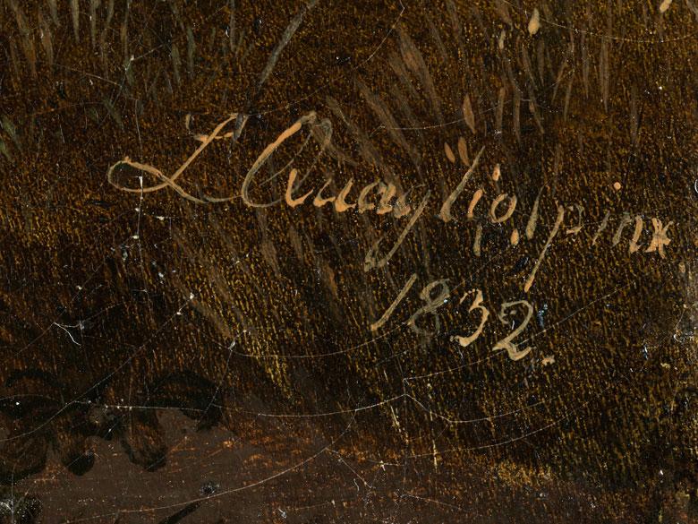 Detailabbildung: Lorenzo II Quaglio, 1793 München – 1869 ebenda