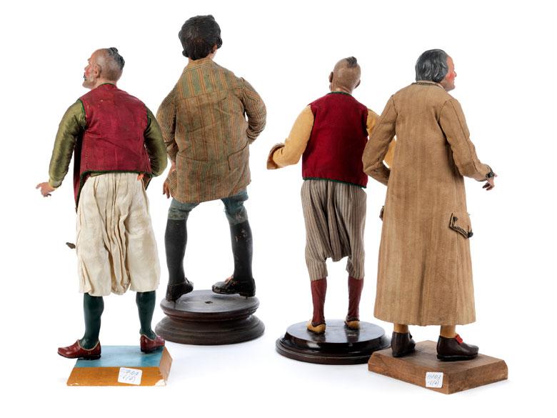 Detailabbildung: Vier Krippenfiguren