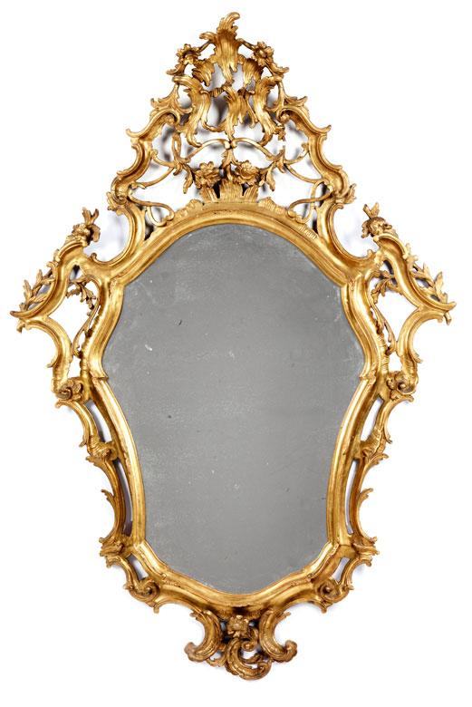 Detailabbildung: Paar barocke Spiegel