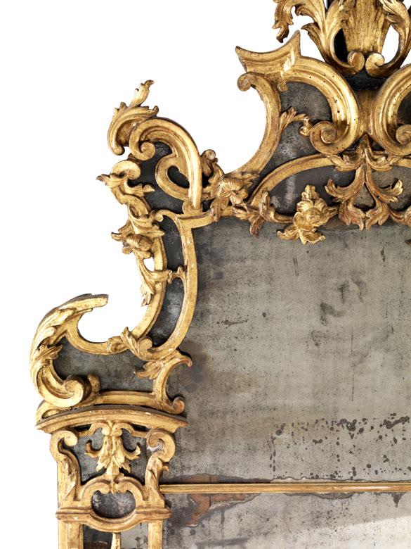 Detailabbildung: Imposanter Barock-Spiegel