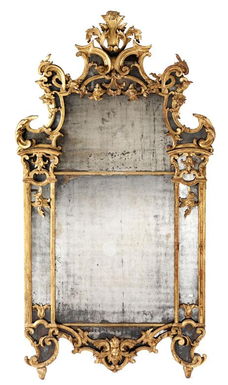Imposanter Barock-Spiegel