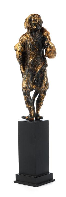 Bronzestatuette des Herkules