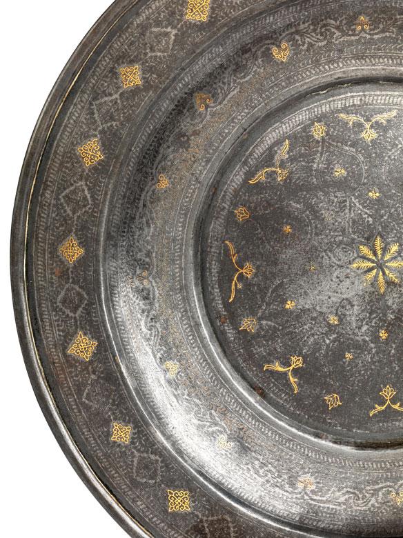 Detailabbildung: Seltener Damaszener-Teller