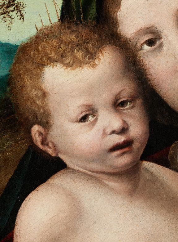 Detailabbildung: Nicolo II Ursino V. Giolfino, 1476 Verona – 1555