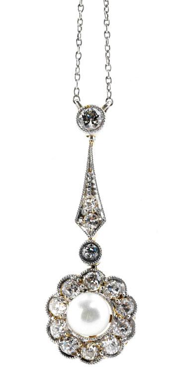 Perl-Diamantcollierchen