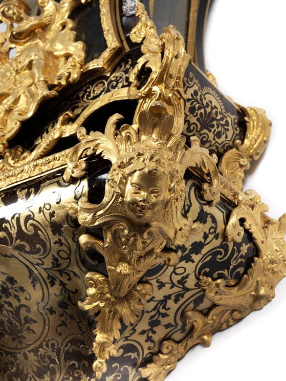 Detailabbildung: Große Versailler Prunkpendule