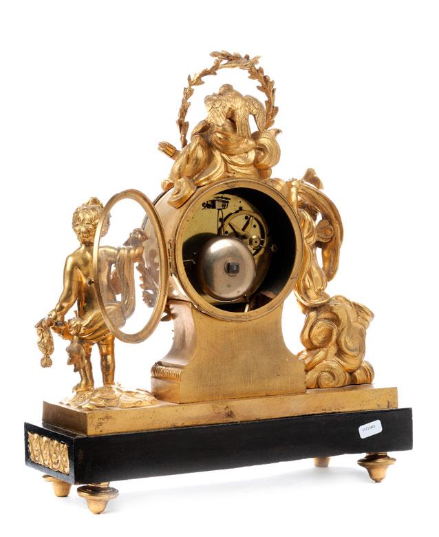 Detailabbildung: Louis XV-Pendule