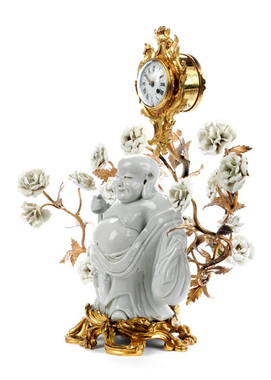 Detailabbildung: Louis XV-Miniaturuhr