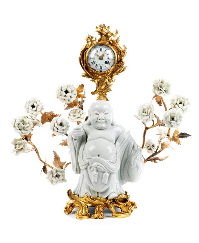 Louis XV-Miniaturuhr