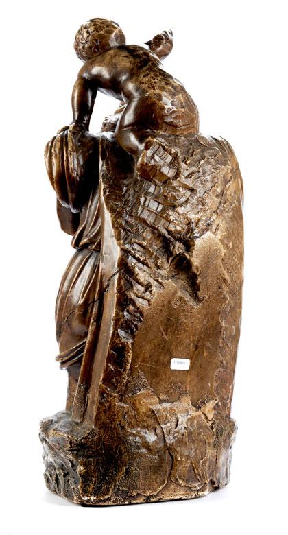 Detailabbildung: Italienischer Bildhauer des 17. Jahrhunderts