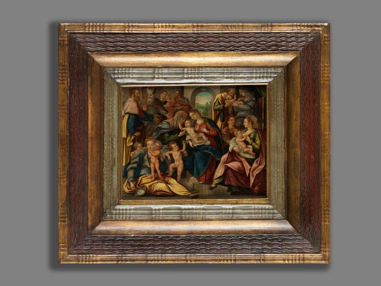 Detailabbildung: Niederländischer Manierist um 1600