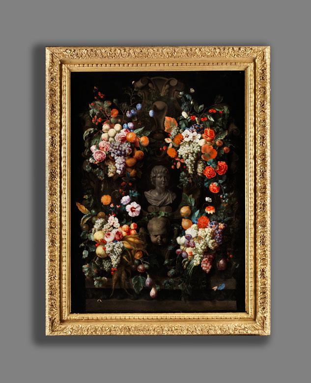 Detailabbildung: Jan Davidsz de Heem, 1606 Utrecht – 1683/84 Antwerpen, zug.