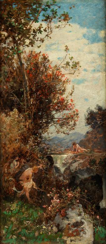 Franz Theodor Aerni, 1853 Aarburg/ Schweiz – 1918 ebenda