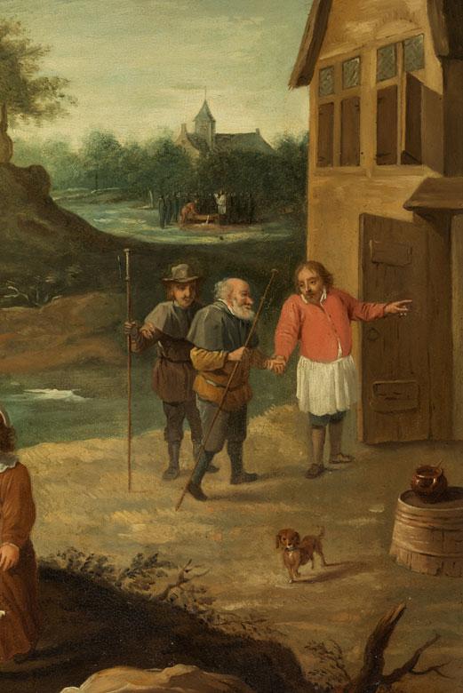 Detailabbildung: David Teniers d. J., 1610 Antwerpen – 1690 Brüssel, zug.
