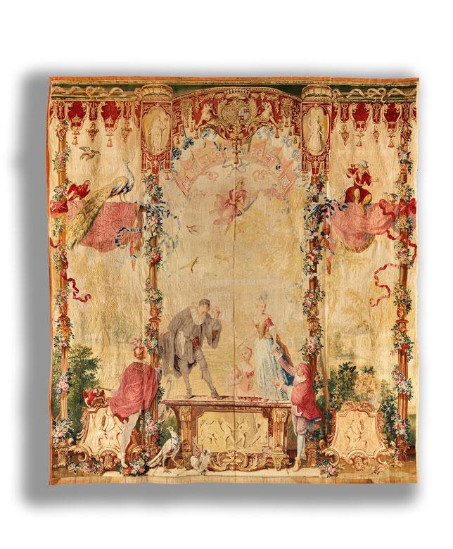 Régence-Tapisserie der königlichen Manufaktur Beauvais
