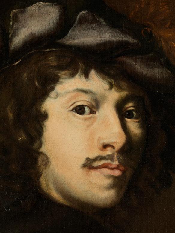 Detailabbildung: Nicolas Regnier, um 1590 – 1667, zug.
