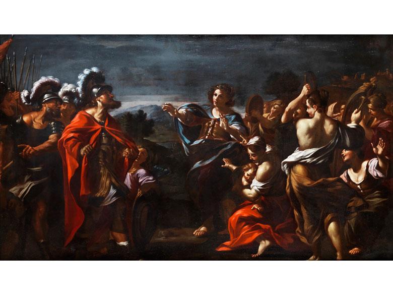 Giovanni Battista Beinaschi, 1636 – 1688, zug.