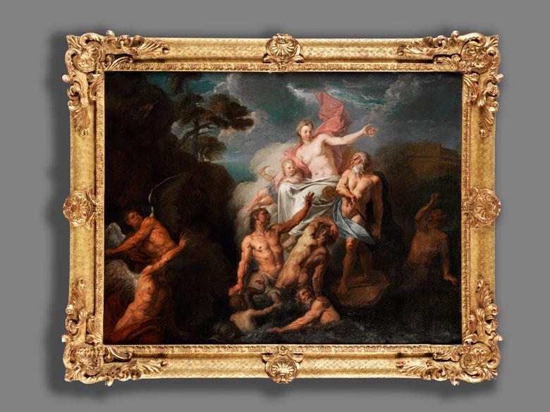 Detailabbildung: Samuel Massé, 1672 Tours – 1753 Paris