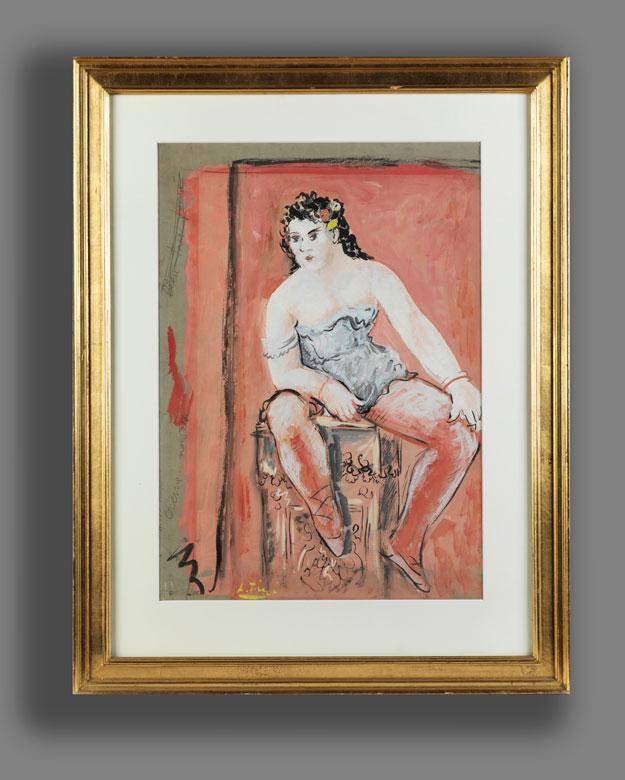 Detailabbildung: Leonor Fini, 1907 Buenos Aires – 1996 Paris