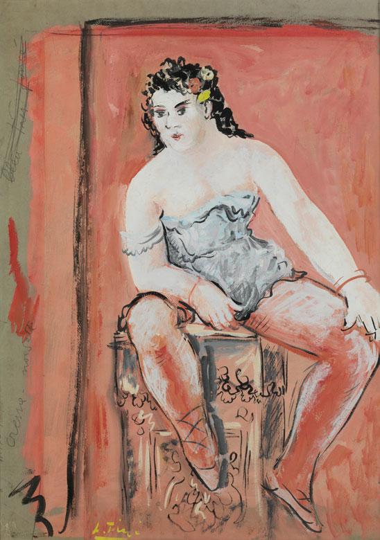 Leonor Fini, 1907 Buenos Aires – 1996 Paris